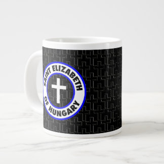 Saint Elizabeth of Hungary Large Coffee Mug