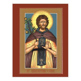 Saint Euphrosynos the Cook Prayer Card
