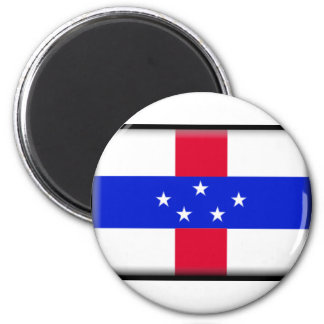 Saint Eustatius Flag Fridge Magnets