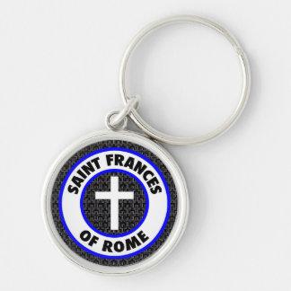 Saint Frances of Rome Key Ring