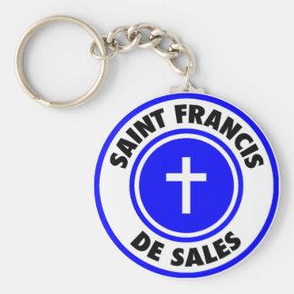 Saint Francis de Sales Key Chains
