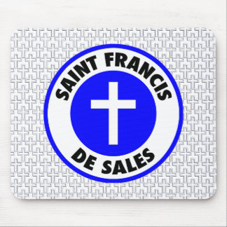 Saint Francis De Sales Mouse Pad