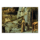 Saint Francis in the Desert by Giovanni Bellini Card
