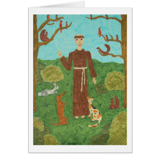 Saint Francis of Assisi Card
