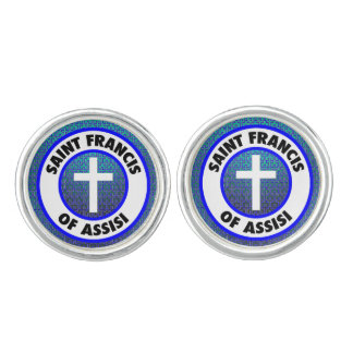 Saint Francis of Assisi Cuff Links