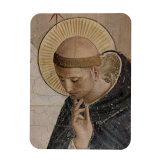 Saint Francis of Assisi  in Contemplation Rectangular Photo Magnet
