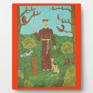 Saint Francis of Assisi Plaque