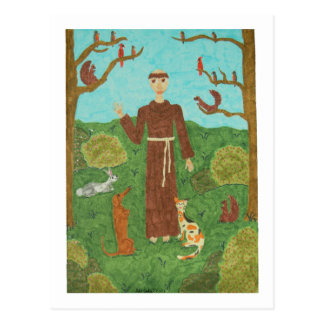 Saint Francis of Assisi Postcard