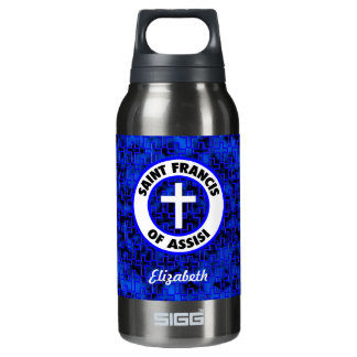 Saint Francis of Assisi 10 Oz Insulated SIGG Thermos Water Bottle