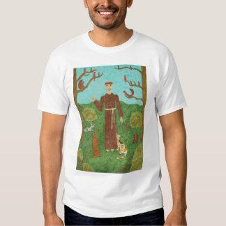 Saint Francis of Assisi Tee Shirts