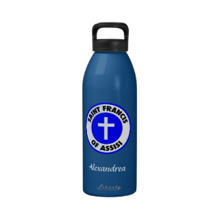 Saint Francis of Assisi Water Bottle