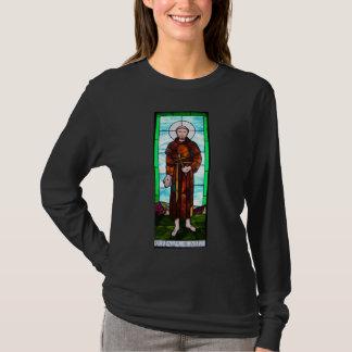 Saint Francis of Assisi women's shirt