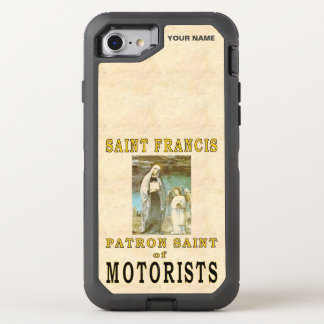 SAINT FRANCIS (Patron Saint of Motorists) OtterBox Defender iPhone 7 Case