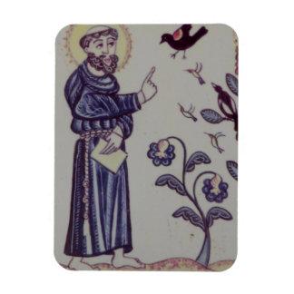 Saint Francis Rectangular Photo Magnet