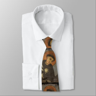 Saint  Francis with Lilies Tie