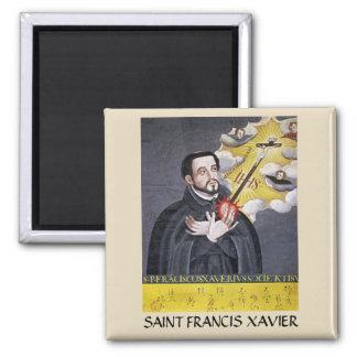 Saint Francis Xavier Portrait Magnet