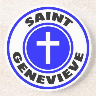 Saint Genevieve Coaster