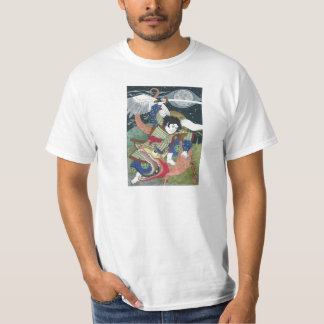 Saint George and the Dragon - Japanese for Ladies Tee Shirt