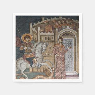 Saint George by the Castle Disposable Serviette