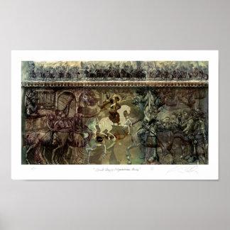 Saint George / Equestrian Series Poster