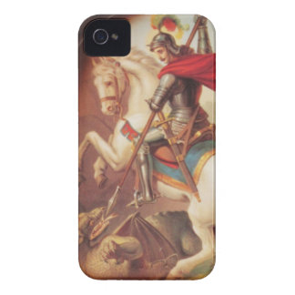 Saint George Killing the Dragon art painting iPhone 4 Covers
