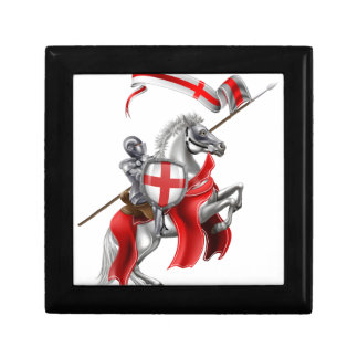 Saint George Medieval Knight on Horse Gift Box