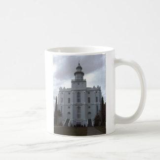 Saint George Temple Basic White Mug