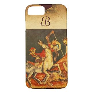 Saint George's Battle with the Dragon Monogram iPhone 8/7 Case