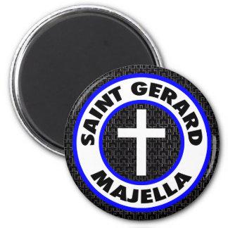 Saint Gerard Majella 6 Cm Round Magnet