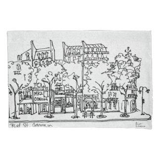 Saint-Germain-des-Pres | Paris, France Pillowcase