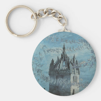Saint Giles - His Bells by Charles Altamont Doyle Key Chains