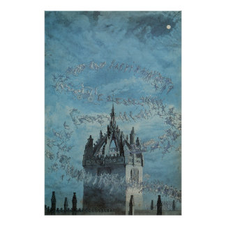 Saint Giles - His Bells by Charles Altamont Doyle Poster