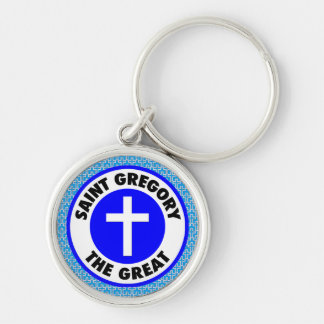 Saint Gregory the Great Key Ring