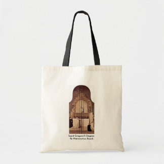 Saint Gregory'S Degree. By Hieronymus Bosch Tote Bag