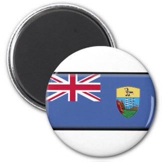 Saint Helena Flag Refrigerator Magnet