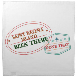 Saint Helena Island Been There Done That Napkin