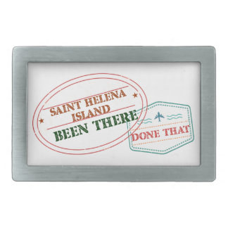 Saint Helena Island Been There Done That Rectangular Belt Buckles