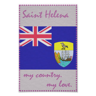 Saint Helena My Country My Love Poster