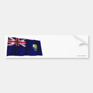 Saint Helena Waving Flag Bumper Stickers