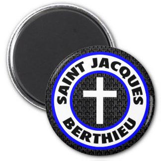 Saint Jacques Berthieu Magnet