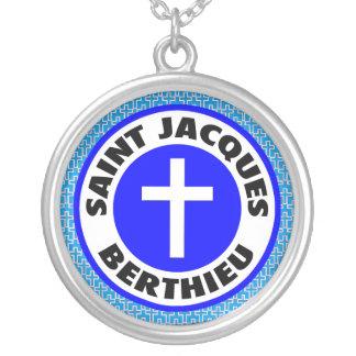 Saint Jacques Berthieu Silver Plated Necklace