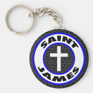 Saint James Key Ring