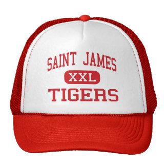 Saint James - Tigers - Middle - Saint James Cap