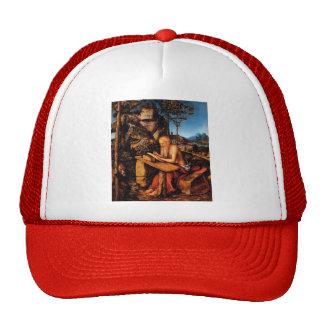 Saint Jerome by Lucas Cranach the Elder Mesh Hat