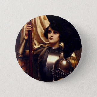 Saint Joan of Arc 6 Cm Round Badge