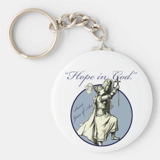 Saint Joan of Arc - Christian Key Chain
