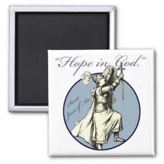Saint Joan of Arc - Christian Magnet