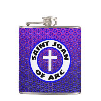Saint Joan of Arc Hip Flask