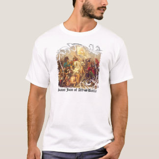 Saint Joan of Arc in Battle Men's Light T-Shirt