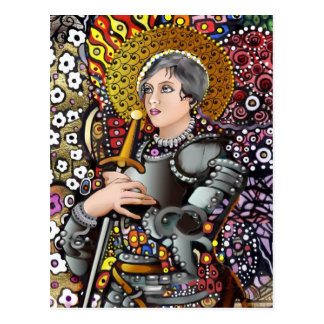 Saint Joan of Arc Postcard